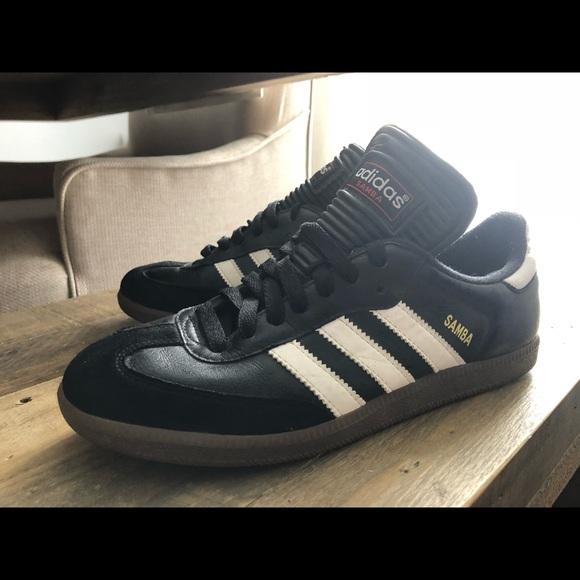 adidas Other - Adidas Black Samba Shoe Women s 8 or Kids 6.5 6516ed7ce9